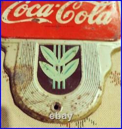 Coca Cola thermometer Vintage Antique 1960's Original Free Shipping