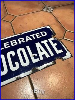 Frys Chocolate enamel advistising Vintage Sweets Vintage Sign Kitchen