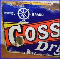 Gossages' soap enamel sign advertising mancave garage metal vintage retro kitche