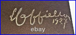Leonetto CAPPIELLO Signed REAL Stone LITHOGRAPH Limited Edition COGNAC MONNET