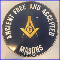 Masons Vintage Porcelain Sign 18