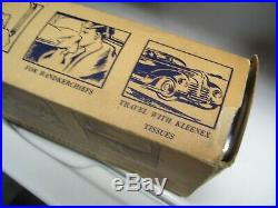Original 1950s nos auto-serv Tissue dispenser chrome vintage scta GM Ford Chevy