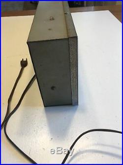 RARE VINTAGE1950's LIGHTED SIGN SYLVANIA RADIO TV TUBES WORKING GOOD CONDITION
