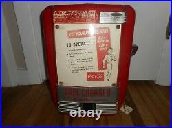 Rare Coca Cola Vintage Vendo Coin Change Changer Machine Soda Pop Gas Station