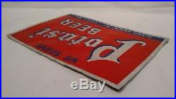 Rare Potosi Brewery Vintage Metal Beer Bar Advertising Sign Wisconsin Original