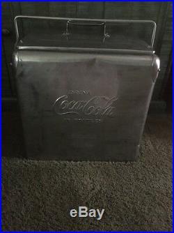 Stainless Steel Coca Cola Cooler, Coke Vintage