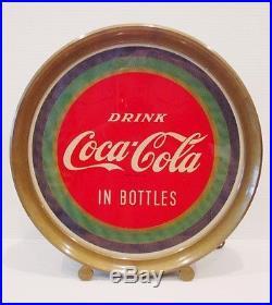 VINTAGE 1950s RARE COCA COLA ADVERTISING ILLUSION LIGHT UP DISPLAY SIGN