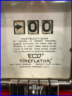 VNTG ECO Mod 97 TIREFLATOR, BENNETT, BALANCED INFLATION, WALL MNT, PRE OWNED
