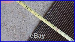 Vintage 1930's Chevrolet Car Radiator Grill WithEmblem Gas Oil 33 34 35