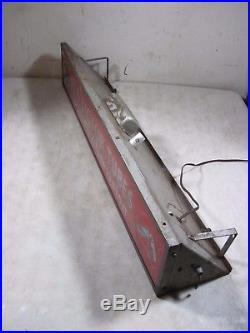 Vintage 1950's RCA Victor Tubes For Radio & Television Lighted Sign Light Nipper