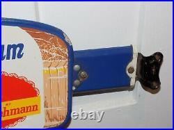 Vintage 1950's Sunbeam Bread Stroehmann Porcelain Door Push and Handle