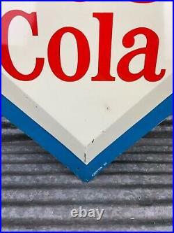 Vintage 1960s RC COLA Sign Royal Crown