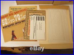 Vintage 1967 Winchester Shotgun Barrel 61 Indian Sign WithBox & Paperwork Mint