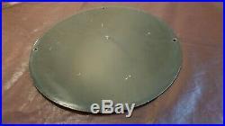Vintage Buffalo Gasoline Porcelain Gas Motor Oil Service Station Pump Plate Sign
