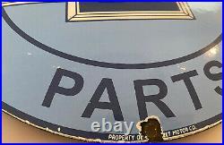 Vintage Chevrolet Porcelain Service Sign, Gas Station, Pump Plate, Motor Oil