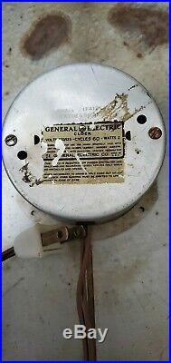 Vintage Dome Glass Clock Rc Royal Crown Cola Sign Ge Clock 1f412 General Electri