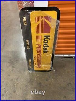 Vintage Kodak Flim Sign Double Slided
