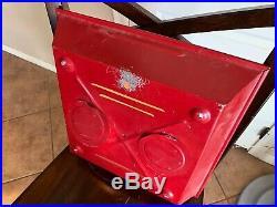 Vintage Original Coca Cola Fish Tail PAM Clock Sign