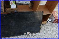 Vintage Original Firestone Tires Tire Gas Station 59 Porcelain Metal Sign Oil