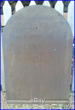 Vintage Original Rare Johnson Winged 70 Gasolene Painted Tin Sign
