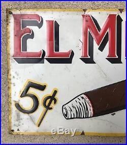Vintage Rare El Moro Cigar Sign