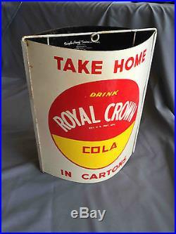 Vintage Royal Crown Cola RC Soda Advertising General Store String Holder Sign