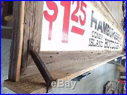 Vintage Texas Tavern Sign framed in reclaimed barn wood
