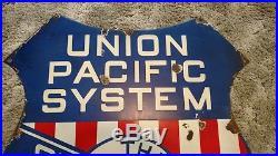 Vintage Union Pacific The Overland Route Train Railroad