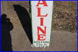 1930 Sinclair Opaline Motor Oils Gas Station 60 Porcelain Metal Sign