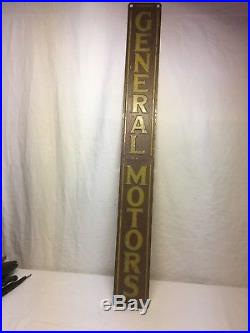 Vintage original advertising metal signs